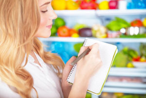 grocery list of healthy foods