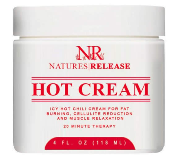 Natures Release Hot Cream Weight Loss Gel