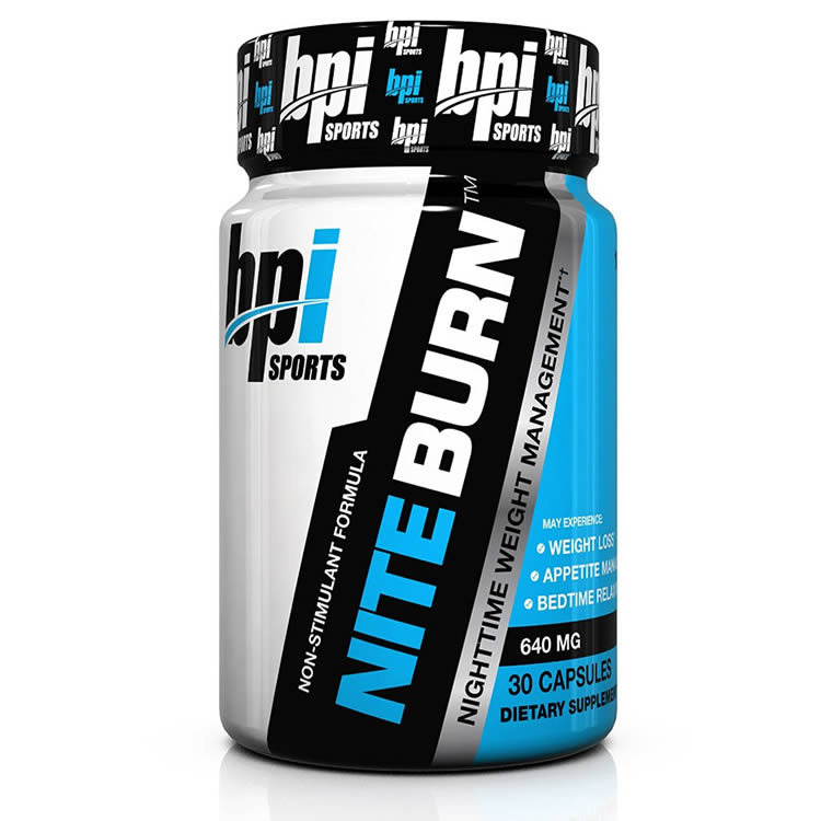 BPI Sports Nite Burn Nighttime Weight Management Formula