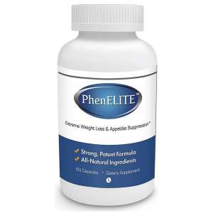PhenELITE – HIGHEST Rated Pharmaceutical Grade Weight Loss Diet Pills – Fast Weight Loss, Hyper-Metabolising Fat Burner and Appetite Suppressor – AIDS IN WEIGHTLOSS